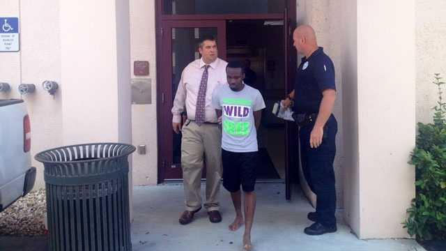 Charles Gadson arrested