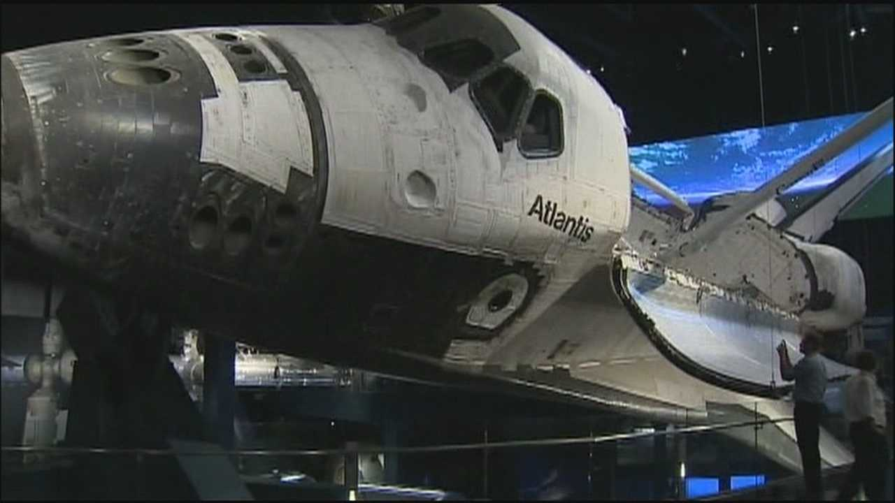 Atlantis exhibit opens at Kennedy Space Center