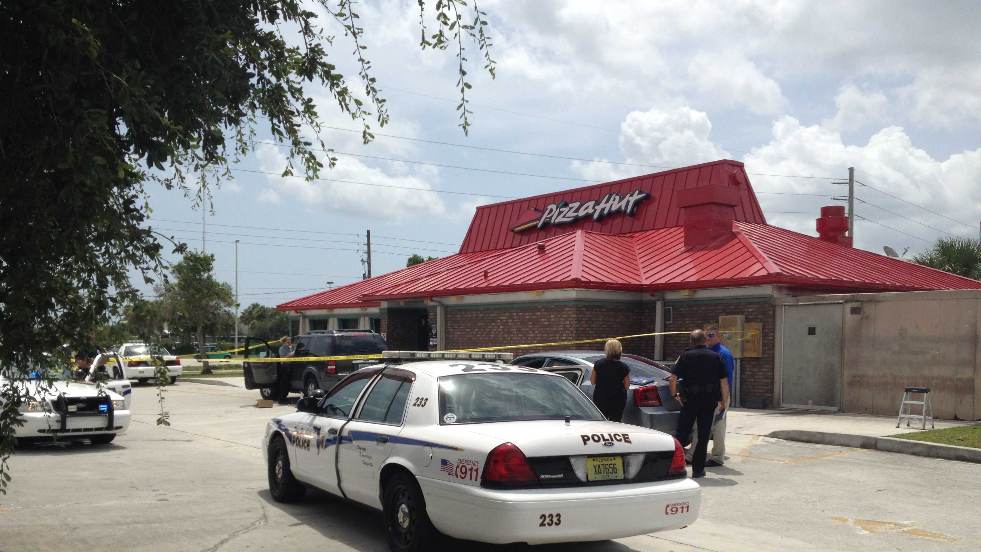 An assistant manager at this Pizza Hut in Port St. Lucie was punched in the face and robbed Monday.