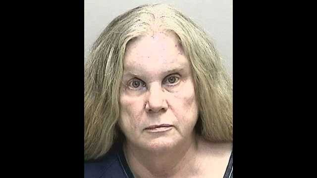 Peggy Hill is accused of kissing a Manatee County deputy on the nose against his will.