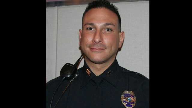 Port St. Lucie police Officer Vincent Randazzo helped render aid to a woman who was convulsing and lost consciousness on a flight from Las Vegas to Fort Lauderdale.