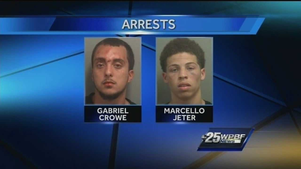 2 arrested in attempted gun store robbery