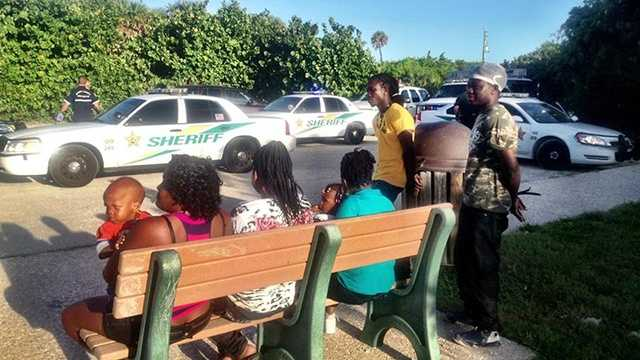 Officials took 11 Haitian migrants into custody after they came ashore in Martin County early Thursday.