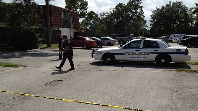 A man was found dead inside his home in Greenacres on Thursday afternoon.