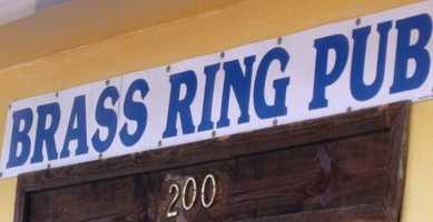 1. Brass Ring Pub (multiple locations)
