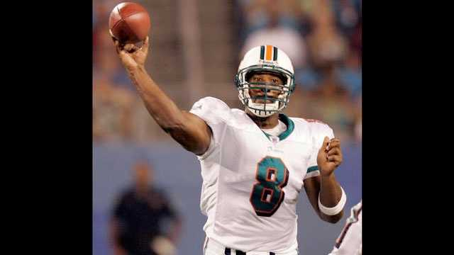 Daunte Culpepper lost the $3.6 million home he bought while playing for the Miami Dolphins in 2006 to foreclosure.