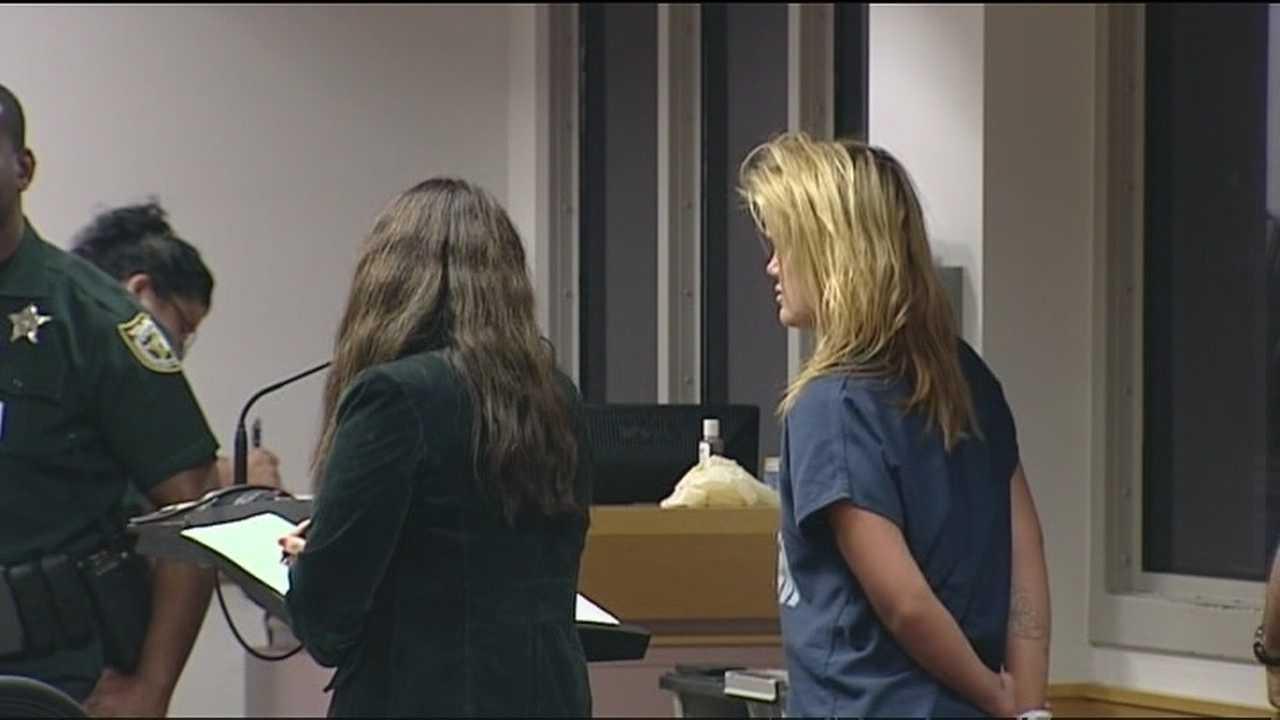 Christina Martell in court after recent arrest