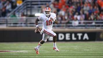Clemson senior quarterback Tajh Boyd is 21-6 as a starter. The 2012 Atlantic Coast Conference player of the year has thrown for 8,053 yards and 73 touchdowns in his career. Boyd also led the Tigers to the ACC championship in 2011.