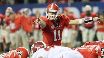 Georgia quarterback Aaron Murray returns for his senior season having thrown for 10,091 yards and 95 touchdowns in his career. Murray set single-season school records with 3,893 yards and 36 touchdown passes as a junior.