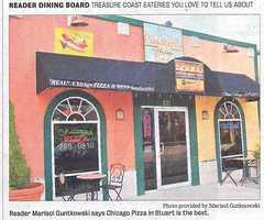 22. Pusateri's Chicago Pizza in Stuart