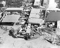 1960: Hurricane Donna washed ashore as a category 4 and claimed 50 lives.