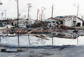 1992: Twenty-six people died during in Hurricane Andrew.