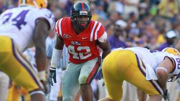 After a two-year absence, Mississippi linebacker D.T. Shackelford is ready to lock up opposing offenses this season.