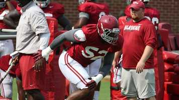 It's only fitting that Alabama freshman Dee Liner is a defensive lineman for the Crimson Tide. This is the position he was born to play.