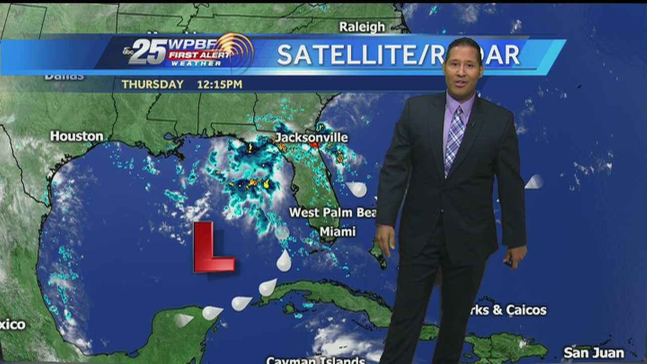 New meteorologist Cris Martinez says the high heat will continue Thursday around the Palm Beaches.