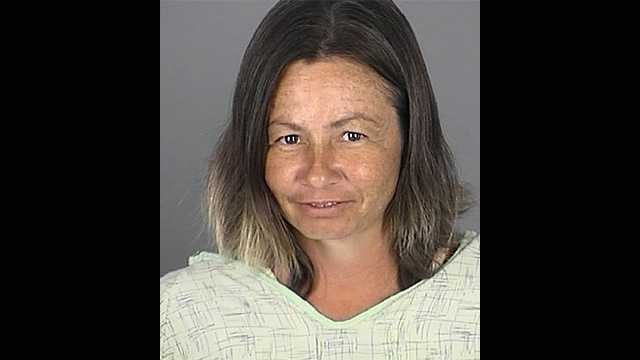 Minnie Kay Lutes faces several charges after a confrontation with her boyfriend in Pasco County.