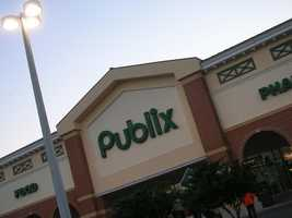 8. Publix, multiple locations