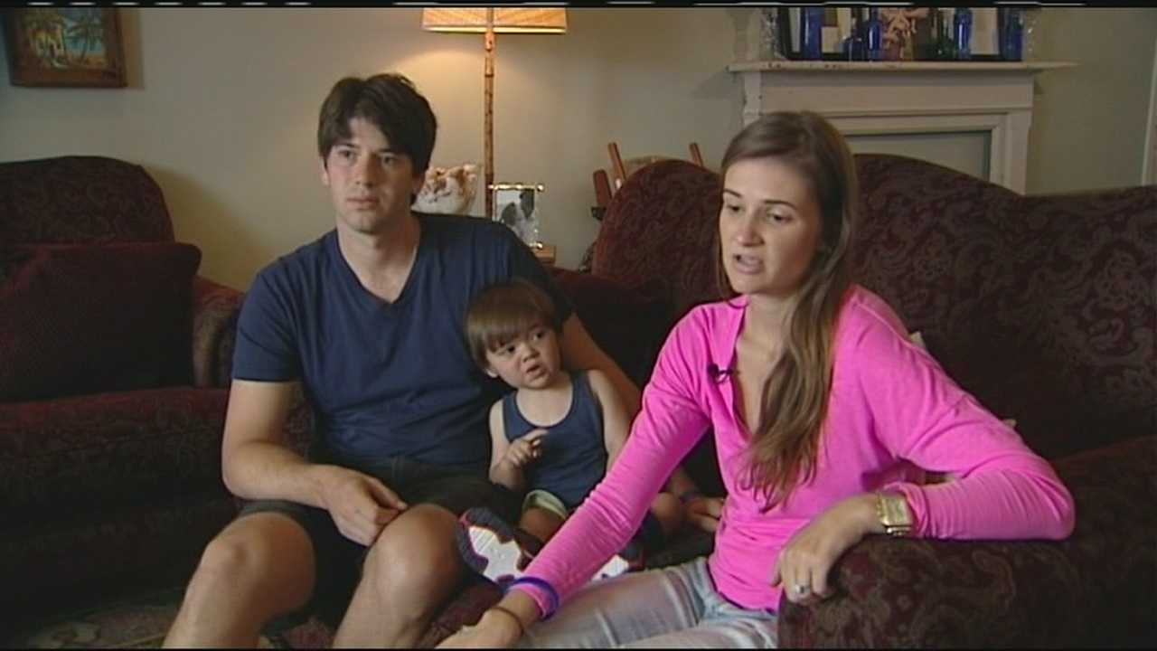 Eric and Elyse Schwartz with son Camden