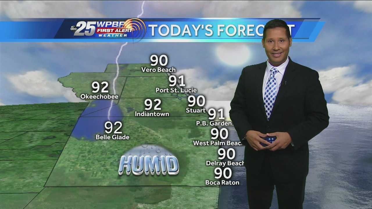 More hot weather is on tap around town Wednesday, and more than one system is making some noise in the tropics this week.