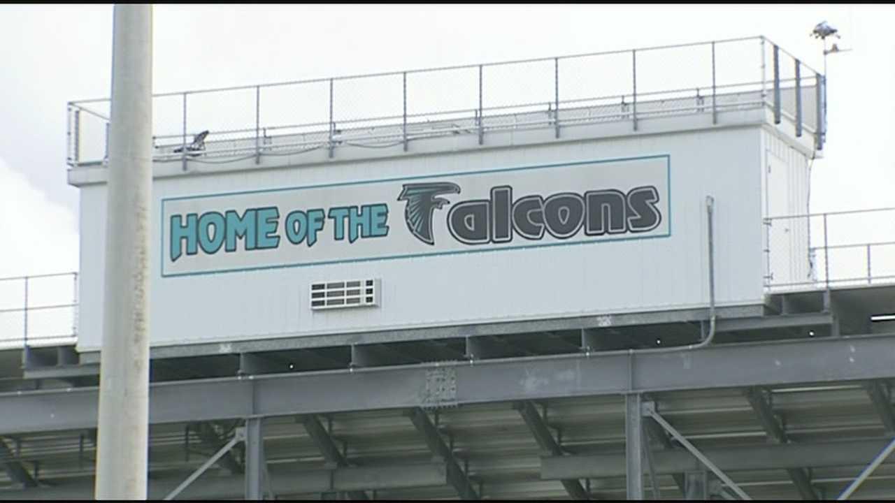 Jensen Beach High School Falcons football stadium
