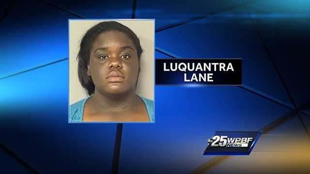 Luquantra Lane is accused of kidnapping an elderly woman, driving her to a motel room far away, then robbing her.