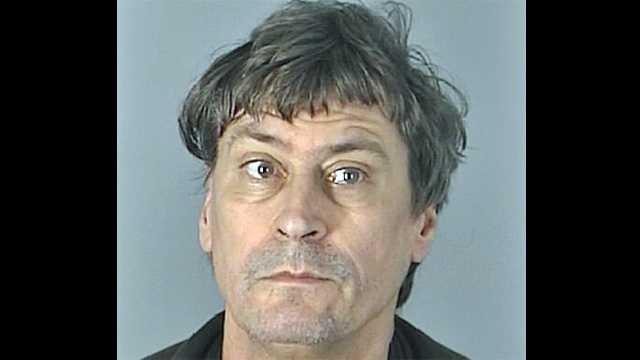 """David Benes is accused of holding down his 80-year-old girlfriend and attempting an exorcism on her because he wanted to """"get the devil out of her."""""""