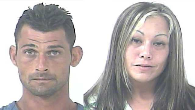 Eddie and Jeanette Lynn are accused of forcibly taking a bicycle from a man.