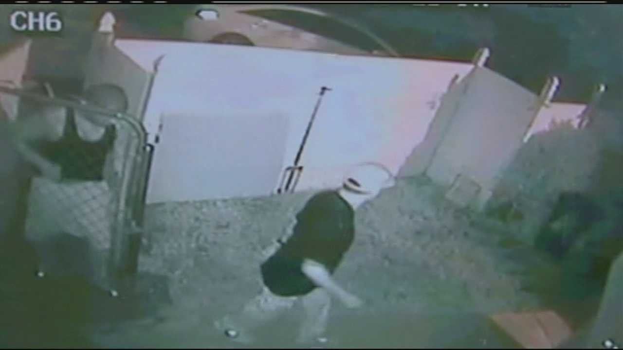 home invaders caught on surveillance