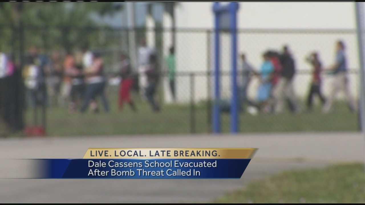 Dale Cassens bomb threat evacuation
