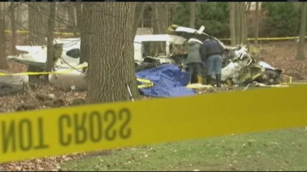 John Bialek, 80, his wife, Ilomae Bialek, 75, and pilot William Didier, 58, died after their small plane crashed in a wooded area near Chicago in 2011.