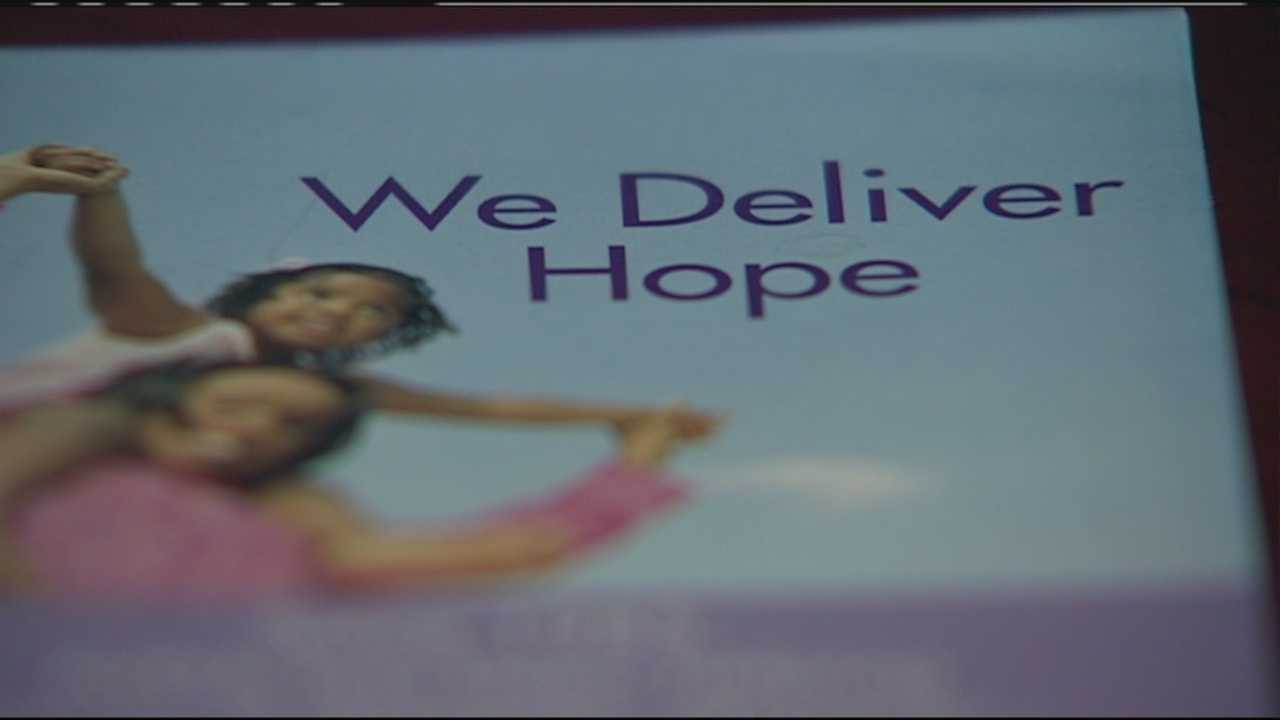 Image Women's shelter operator reminds domestic violence victims there is help