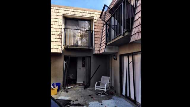Suspected meth lab explosion in Palm City