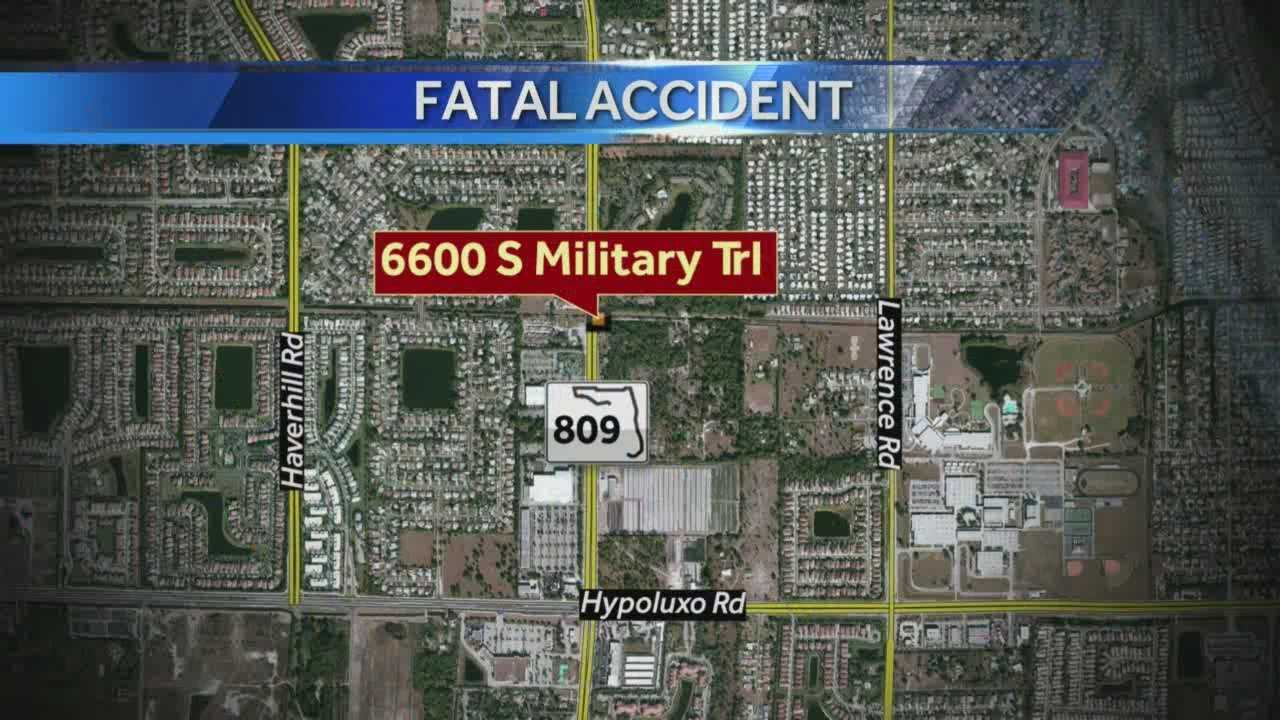 fatal pedestrian struck map