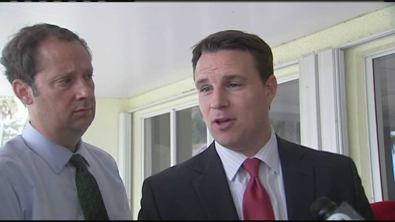 State Sen. Joe Negron and Speaker of the House Will Weatherford take a tour of Lake Okeechobee and the toxic water in Stuart.