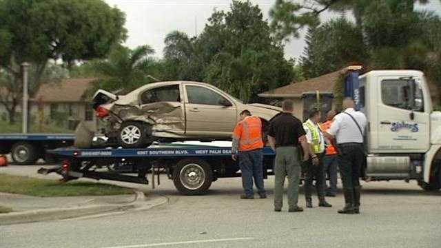 Forest Hill Blvd. crash