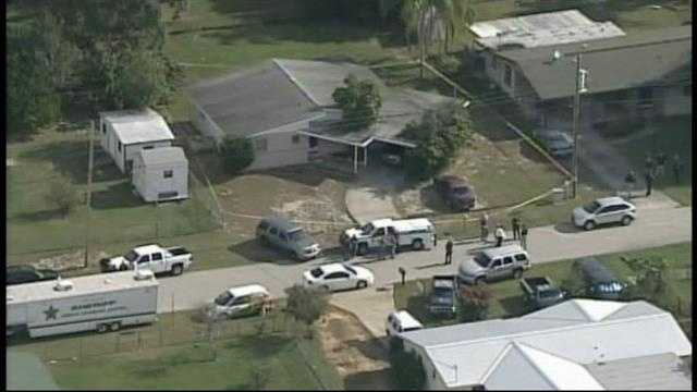 Two U.S. marshals from St. Lucie County were shot while executing a warrant in Sebring.