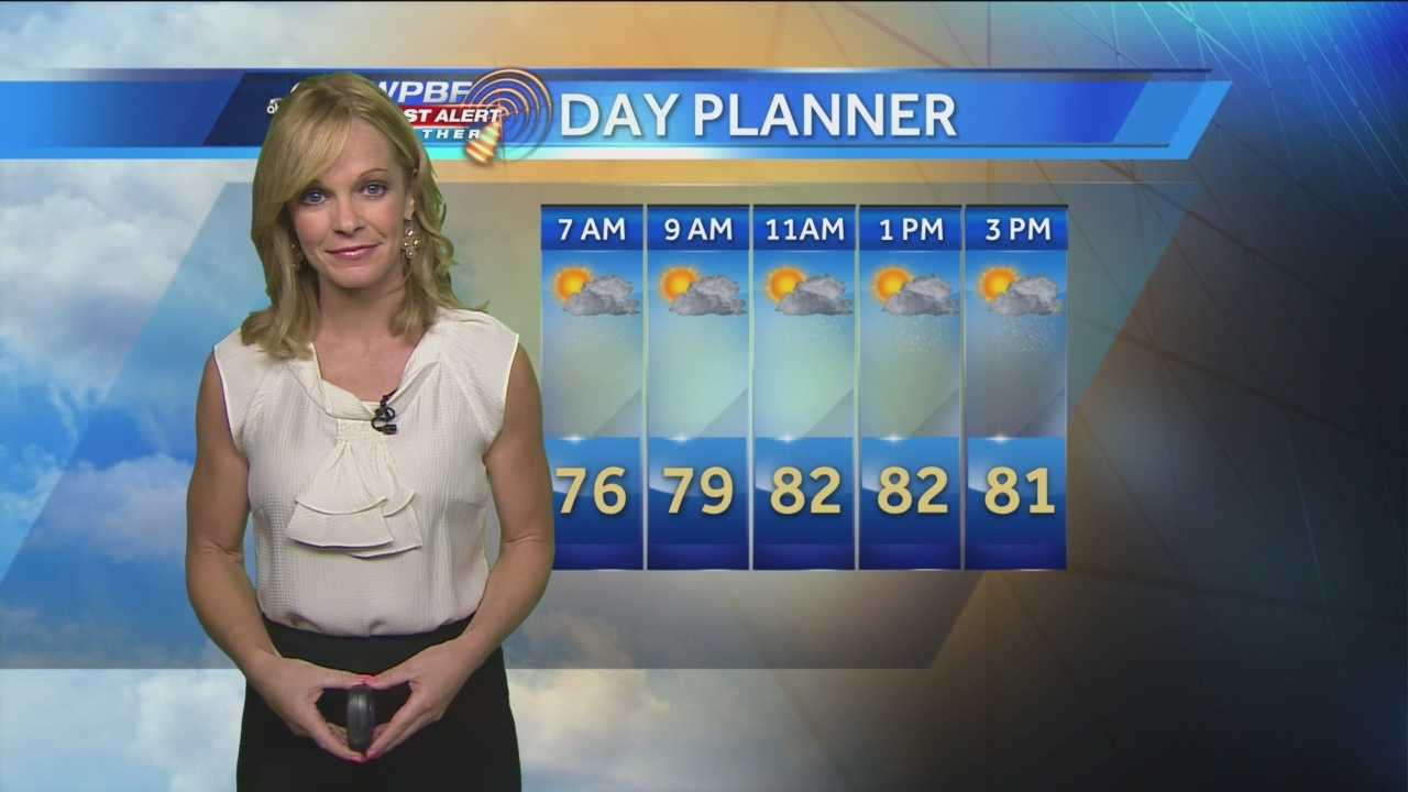 Sandra says more rain is expected around town Thursday.