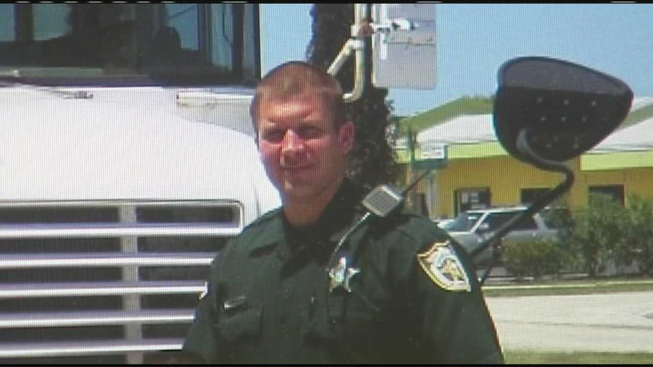 St. Lucie County Sheriff's Office Deputy Paul Pearson Jr. was shot in the shoulder while executing a warrant in Sebring as part of a U.S. marshal task force.