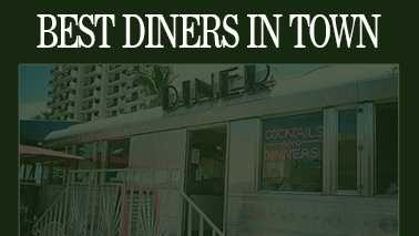 We asked and you answered, South Florida. Here they are, the top diners in town, according to our Facebook fans. The first eight diners on the list tied for 19th place, then the list resumes at No. 18.