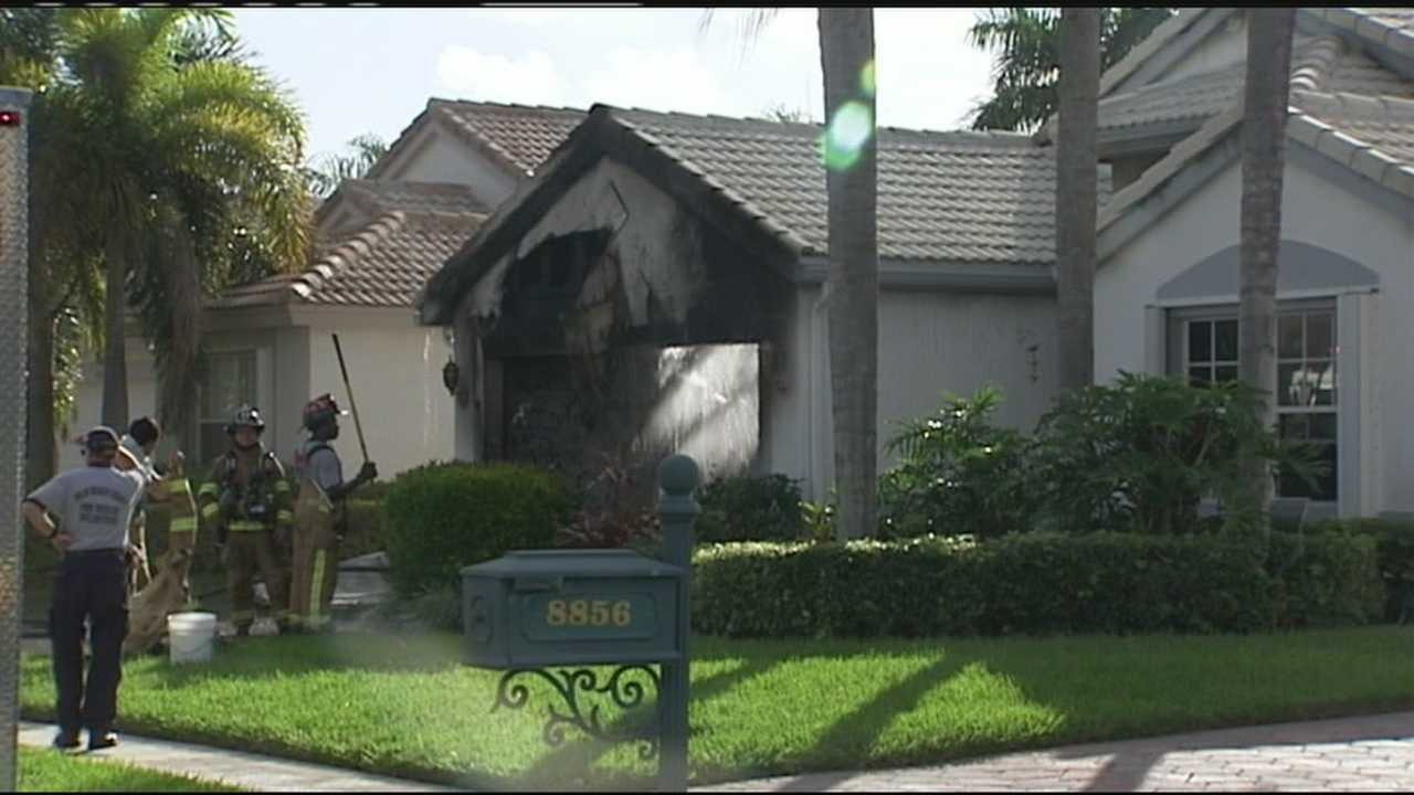 Elderly woman escapes Boca Raton home after fire
