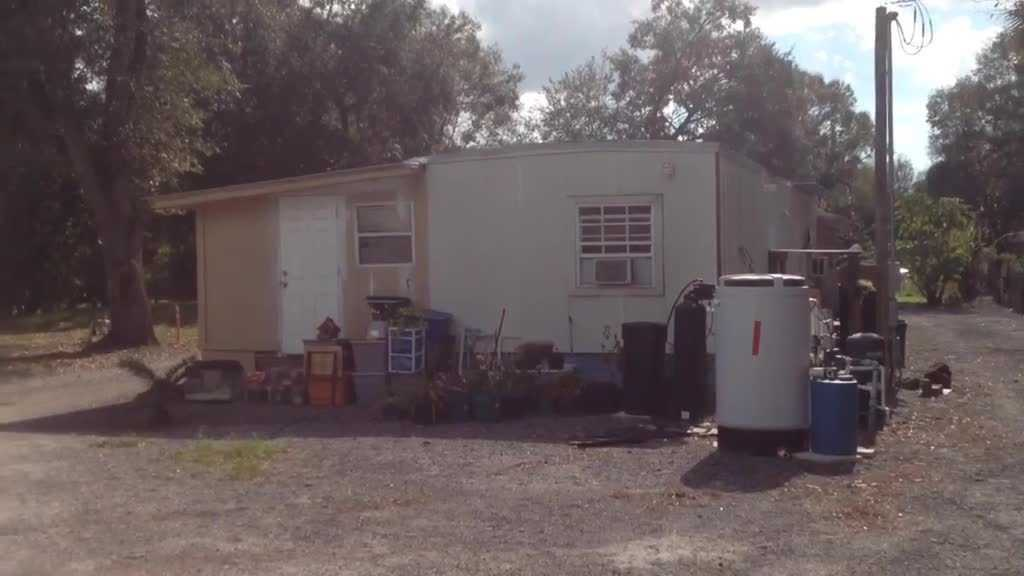 Home where naked intruder found