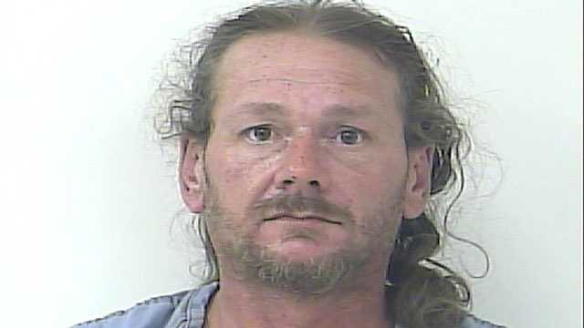 Guy White is accused of pulling out a knife at a McDonald's in Port St. Lucie.