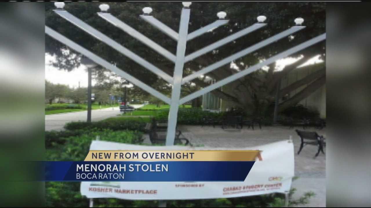 img-Menorah stolen from rabbi s yard