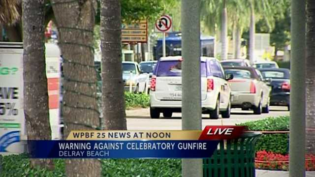 Image Delray Beach residents warned about New Year's celebratory gunfire