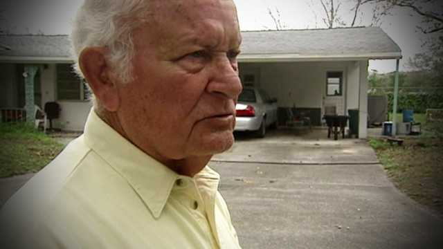 A man who was violently beaten right in front of his home describes what happened, and who came to his rescue.