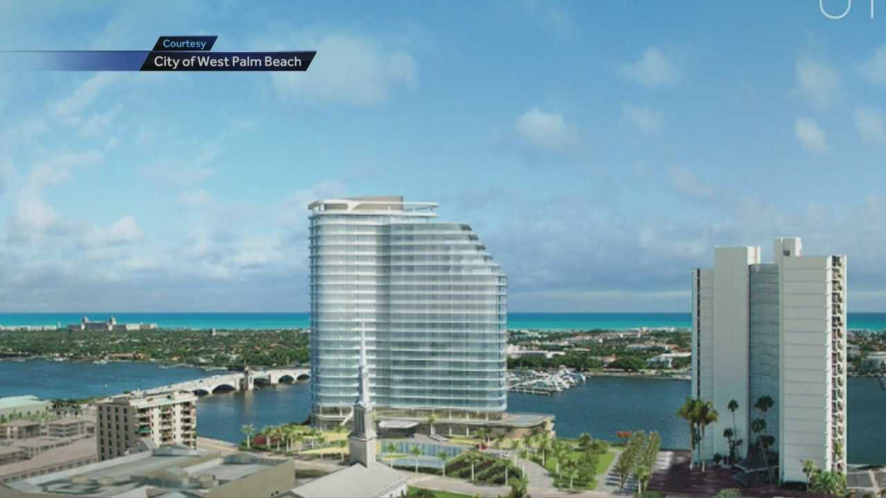 West Palm Beach Mayor Jeri Muoio released two new renderings of the proposed Chapel by the Lake condo project Jan. 8.