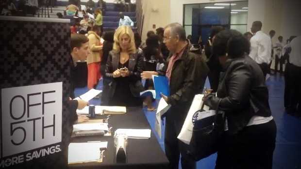 Organizers of a job fair had to be optimistic about the turnout at Northwood University on Thursday.