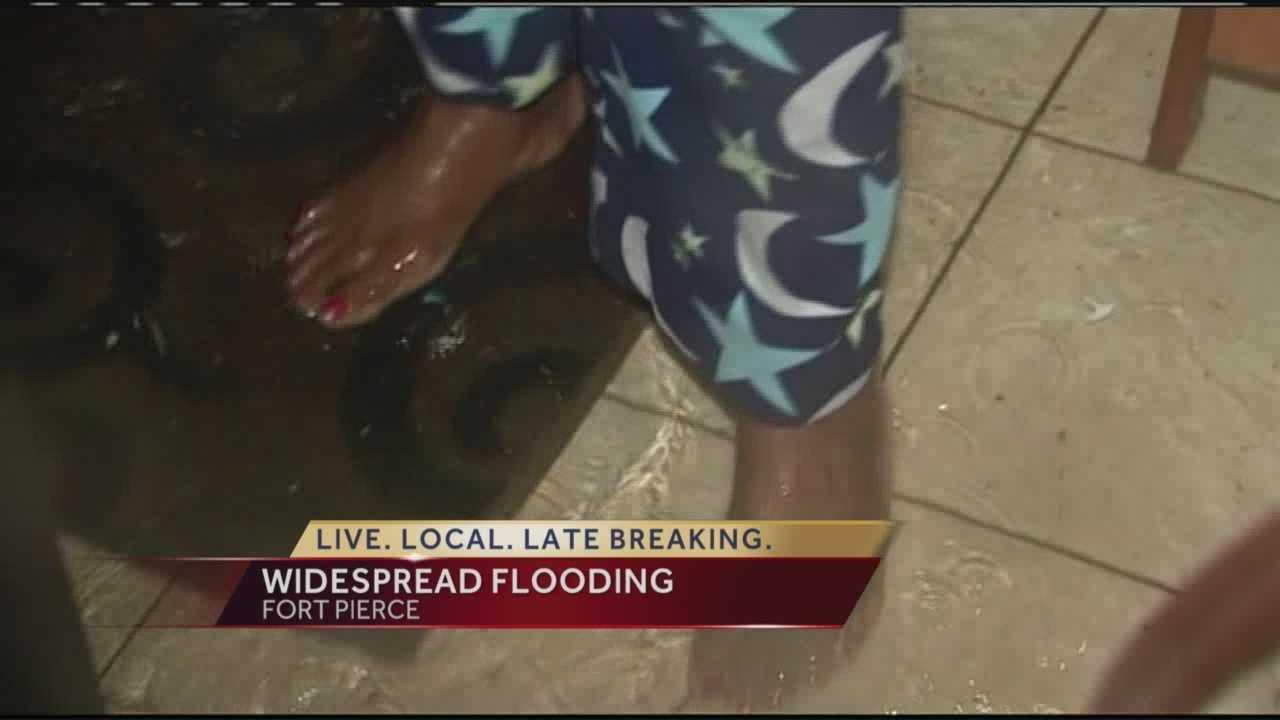 Heavy rain leaves flooding across region