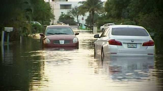 Officials will tour southern Palm Beach County on Wednesday to see if residents qualify for disaster relief after record rainfall last week.