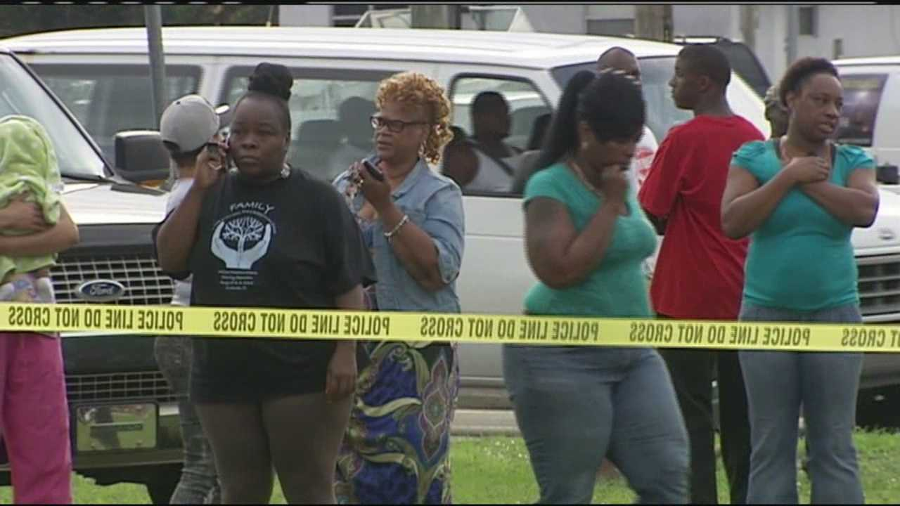 A man was found dead inside a home after a several-hour standoff with deputies just across the street from a school in Fort Pierce on Tuesday.